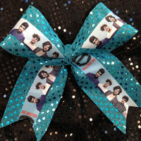 1 One Direction Turquoise Blue by CheerLover2Worlds on Etsy