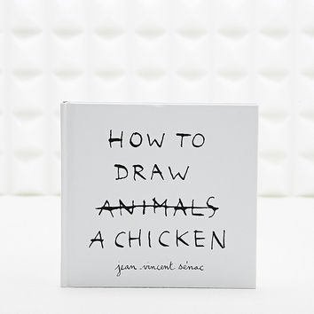 How to Draw a Chicken Book - Urban Outfitters