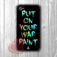 Fall Out Boy Put On Your War Paint -dta for  iPhone 4/4S/5/5S/5C/6/6+,Samsung S3/S4/S5/S6 Regular/S6 Edge,Samsung Note 3/4