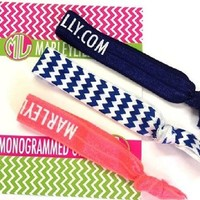 Marley Lilly Chevron Promotional Hair Tie Card