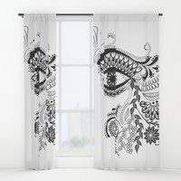 Eye see you Window Curtains by famenxt