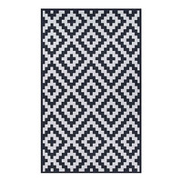 Couristan® Afuera Diatomic Indoor/Outdoor Area Rug in Black/White