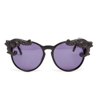 MOO | Handmade Cat-eye Sunglasses with Porcelain Tips | Browns fashion & designer clothes & clothing