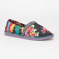 Tigerbear Republik Hicky Womens Shoes Black Combo  In Sizes