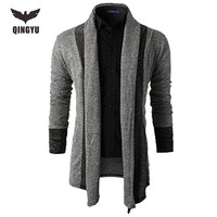 2016 Mens Sweater Long Sleeve Cardigan Male Autumn Knitted Sweaters Men Casual Slim Fit Coat Men Clothing Cardigan Male