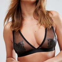 Kitty Coquete By Mimi Holliday Owl Bra at asos.com