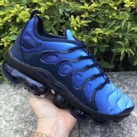 HCXX 19July 574 Nike Air Vapormax Plus Sneakers Casual Fashion Running Shoes black blue