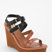 DV By Dolce Vita Jobin Double-Buckle Wedge Sandal