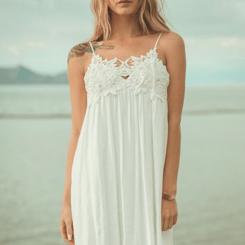 White Sky Crochet Mini
