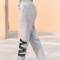 Layer Logo Slim Leg Jogger Pants | PacSun