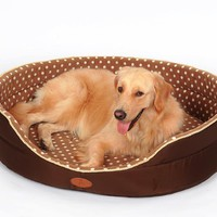 Double sided available all seasons dog bed