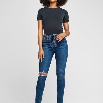 Bullocks Rise Up Jeans in Unapologetic   Hudson Jeans
