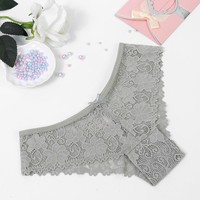 1PC NEW Hot Sale Woman Seamless Traceless Underwear Ultra-thin Low Waist thongs sexy lace panties ladies Cotton briefs G-string
