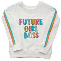 Child's Future Girl Boss Crew Neck