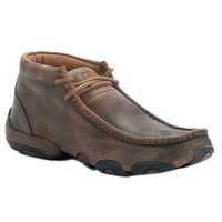 Twisted X® Ladies Bomber Brown Driving Moccasin Casual Shoe