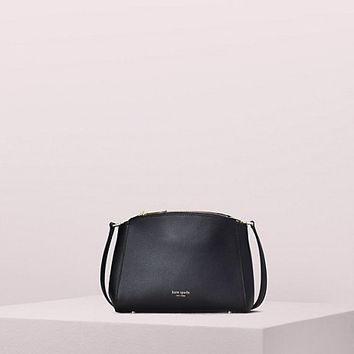 sydney double-zip crossbody