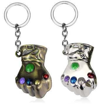 The Infinity Gauntlet of Thanos Keychain