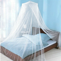 Summer Style Romantic Round Lace Curtain Dome Bed Canopy Netting Princess Mosquito Net White Pink Brand New High Quality