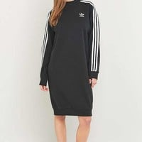 adidas Originals Three Stripe Black Midi Dress