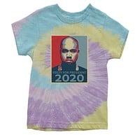 Yeezy For President Youth Tie-Dye T-shirt