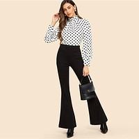 PENNY POLKA DOT TURTLENECK