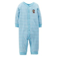 Carter's Stripe Animal Coveralls - Baby