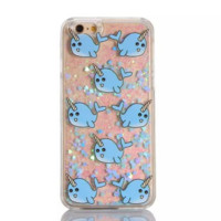 Unique shining sand Lucky fish Phone Case Cover for Apple iPhone 7 7 Plus 5S 5 SE 6 6S 6 Plus 6S Plus + Nice gift box! LJ160927-005