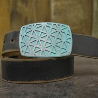 Array Buckle & Belt - Rounded