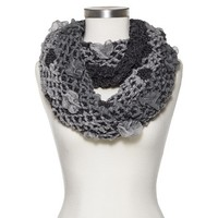Women's Puffy Infinity Scarf - Assorted Colors