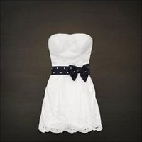 NWT, River Jetties Dress white, size large, Hollister by Ambercombie, so cute!