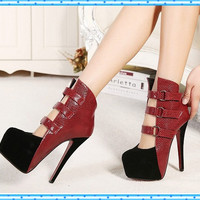 new fashion sexy wedding shoes woman platform red bottom high heels women pumps and women's spring autumn shoes