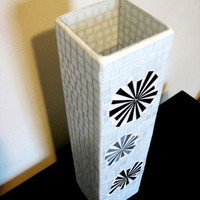 Starburst Tower Tall Stained Glass Mosaic by LookingGlassSelf