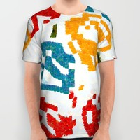 Colorful paint stokes All Over Print Shirt by Laly_sb