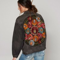 Free People Storm Wash Jacket - Women's Coats/Jackets in Black | Buckle