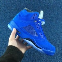 "Air Jordan 5 Retro ""Royal Blue"""