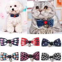 New Fashion Cute Dog Puppy Cat Kitten Pet Toy Kid Bow Tie Necktie Collar Clothes
