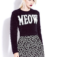 Catty Cropped Sweater