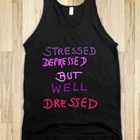 *** WELL DRESSED *** Tank Top from skreened.com *** 20 % off this Monday!