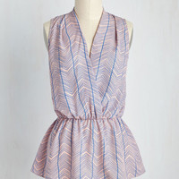 Great Gal in the Corner Office Top | Mod Retro Vintage Short Sleeve Shirts | ModCloth.com