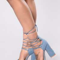 Sweet Stuff Heel - Denim