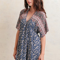 Foreign Lands Paisley Dress