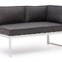 Golden Beach Chaise RSF Gray