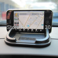 Free shipping car accessories Anti Slip pad Rubber Mobile Phone Shelf Antislip Mat For GPS MP3 Cell Phone