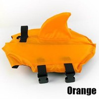 dog life jacket pet jacket safety clothes for pet jacket safety swimsuit swim suit swimwear pet dog with Shark fin