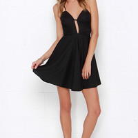 Hostess with the Mostess Black Lace Dress