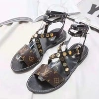 Louis Vuitton LV Woman Men Fashion Sandals Flats Shoes