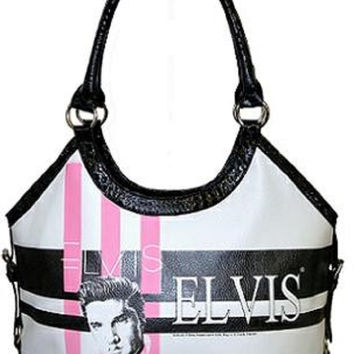 Licensed Elvis Presley Large Tote