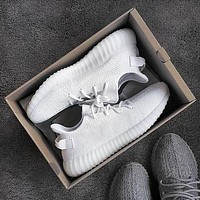 Yeezy 550 Boost Adidas 350 V2 Popular Unisex Sport Running Shoe Sneakers Pure White I