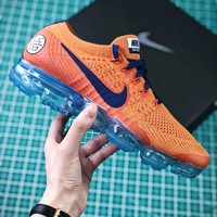 Nike Lab Air Vapormax Flyknit 2.0 Dragonball Id Customized Aa3858-102 Sport Running Shoes - Best Online Sale