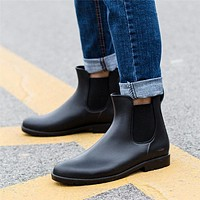 Classic Rubber Chelsea Boots